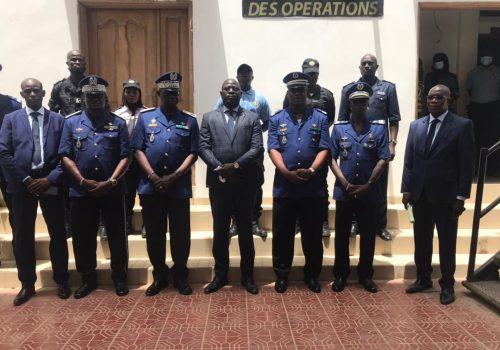 Le Haut-commandant de la Gendarmerie nationale à l'ASP pour une visite de travail